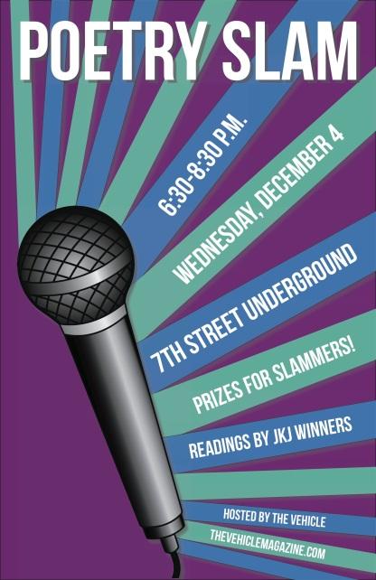 Poetry Slam Poster