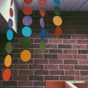 library polka dots