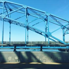 Bridge to Niagara Falls.