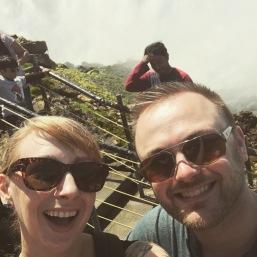 Me and Tyler at Niagara Falls.