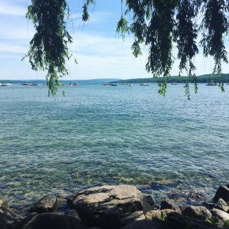 Canandaigua Lake in New York.