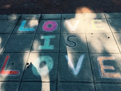 Love is love in Stamford, Connecticut.