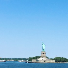 Statue of Liberty from the Staten Island Ferry.