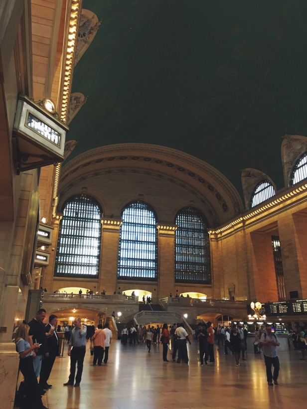 Atrium of Grand Central Station in New York City.