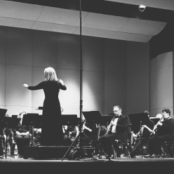 The Northshore Concert Band performing at the Palace Theatre in Stamford, Connecticut.