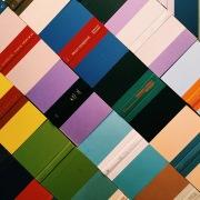 volumes book wall