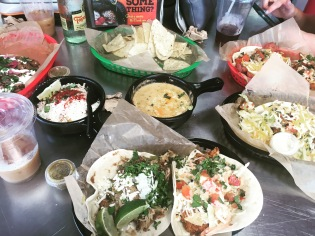 Tacos at Torchy's in Austin, Texas.