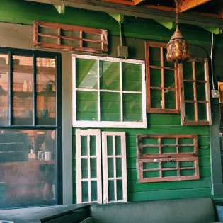 The cutest coffee shop in Waco, Texas.