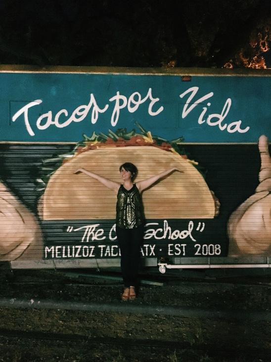 Elizabeth likes tacos. For LYFE.