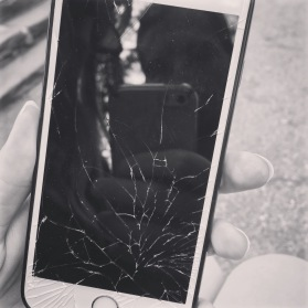 Mount Rushmore so beautiful it shattered my phone.
