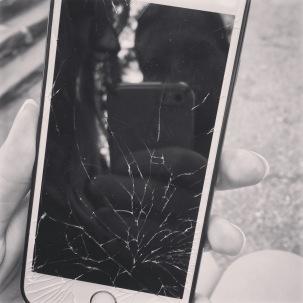 Mount Rushmore so beautiful it shattered my phone.