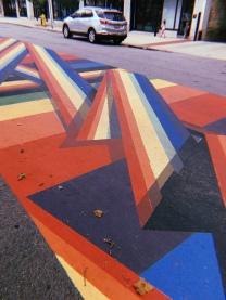 Rainbow Road in Traverse City, Michigan