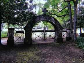 St. Anne's Cemetery in Mackinac Island