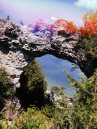 Arch Rock in Mackinac Island